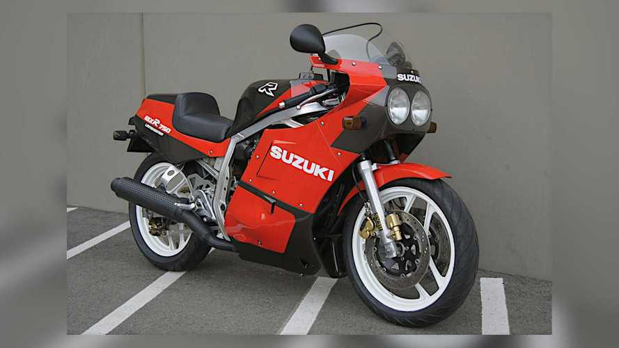 There's A Rare 1986 Suzuki GSXR750 Limited Edition JDM Up For Grabs