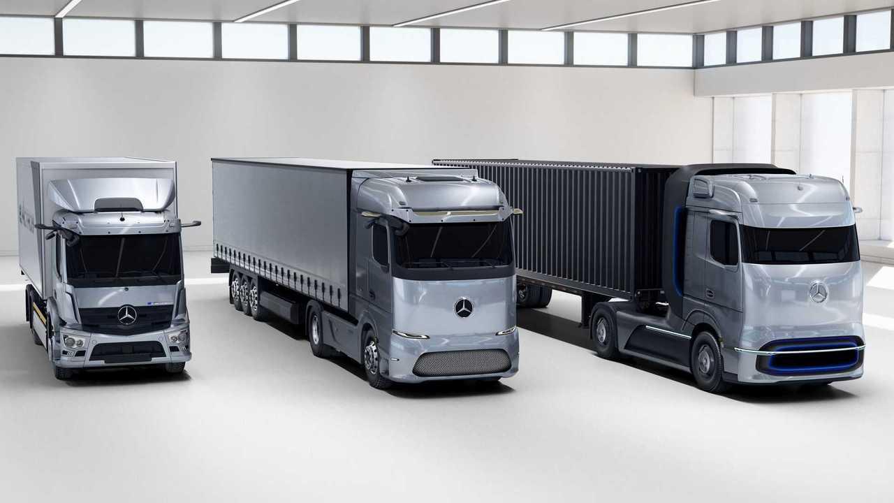 Mercedes-Benz caminhoes elétricos
