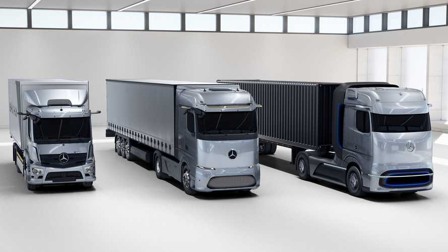 Mercedes revela linha de caminhões elétricos com até 1.000 km de autonomia