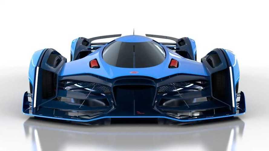 Bugatti Vision Le Mans concept