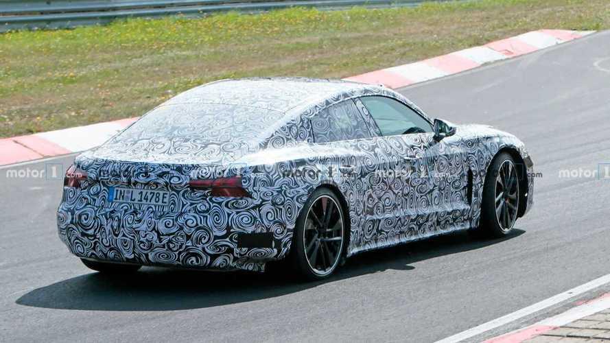 Audi e-tron GT, le foto spia al Nurburgring