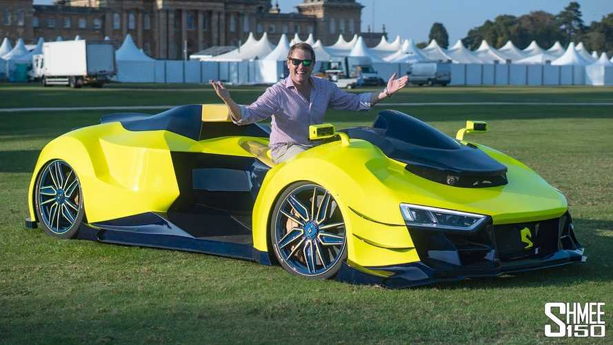 Shmee Checks Out A Quad Bike Powered By Audi R8 V10 Engine