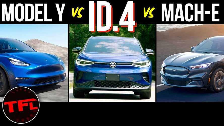 How Does The VW ID.4 Stack Up To Tesla Model Y, Ford Mustang Mach-E?
