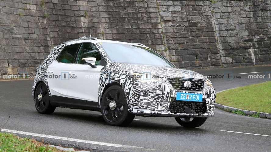 Seat Arona Facelift: Erlkönig zeigt kleinere optische Änderungen