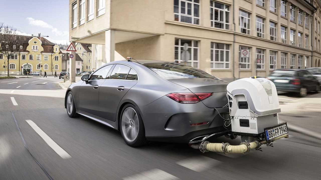 Mercedes, test RDE