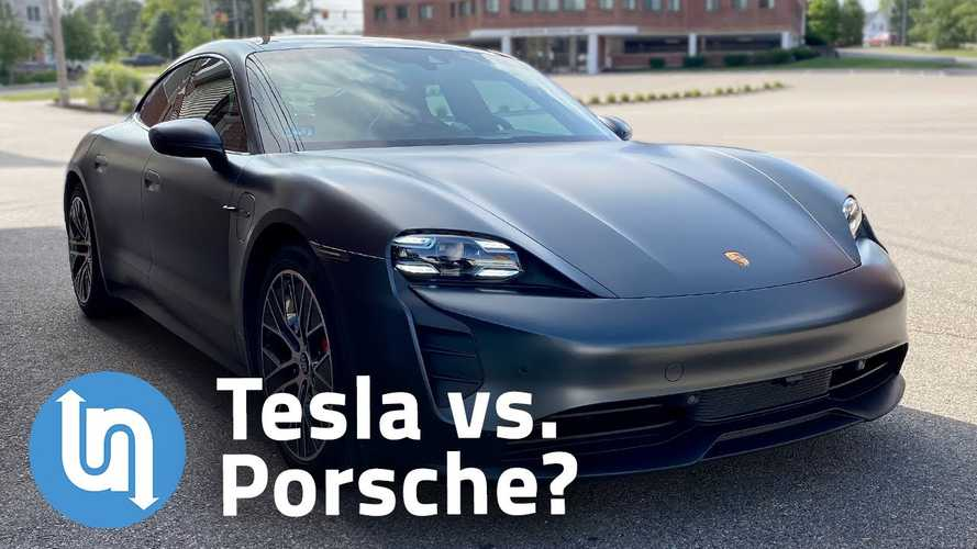 Did Porsche Focus On Tesla To Develop The Taycan? This Video Says No