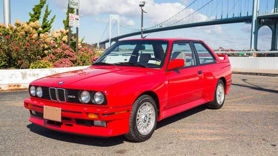 Uno de los últimos BMW M3 E30 producidos, vendido por 89.000 euros