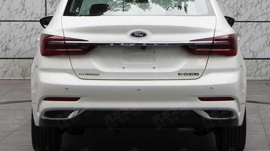 Ford Escort restyling, para China