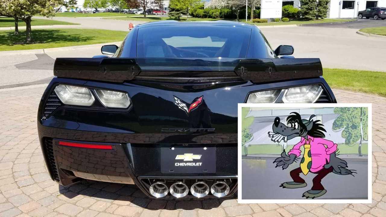 Chevrolet Corvette и его выпускные патрубки