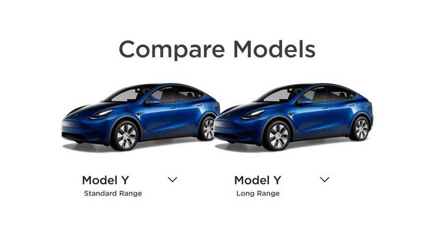 Tesla Model Y Standard Range Compared To Model Y Long Range & Other EVs