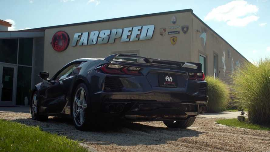 Chevy Corvette C8 With Full Custom Exhaust Sounds Properly Aggressive