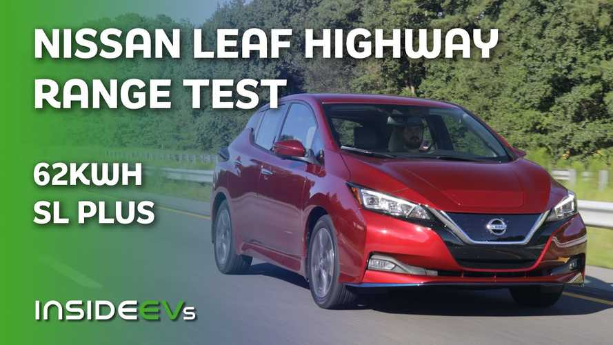 2020 Nissan LEAF SL Plus 70 Mph Highway Range Test, Part Two