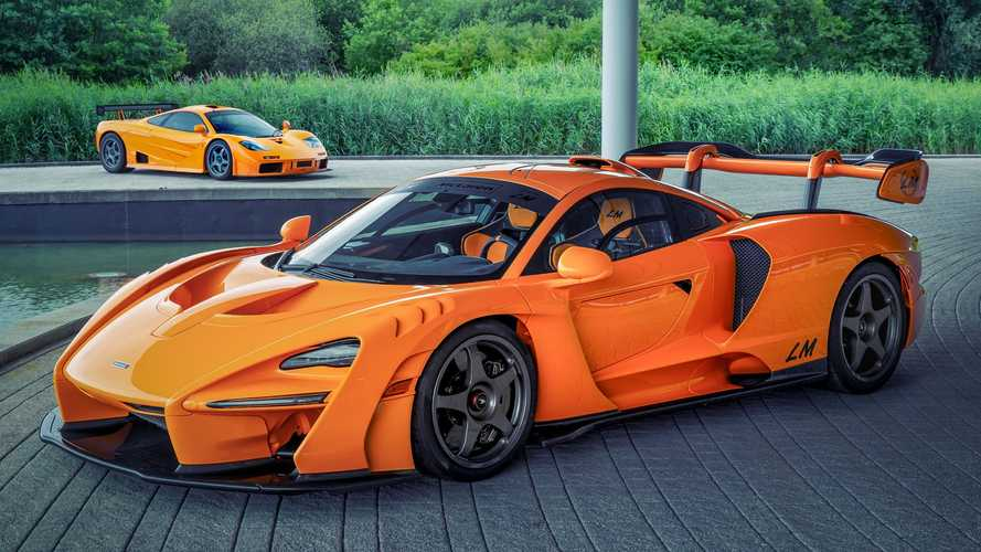 McLaren Senna LM perfectly honours those iconic orange F1s