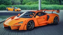 McLaren Senna LM 'Orange Papaye'