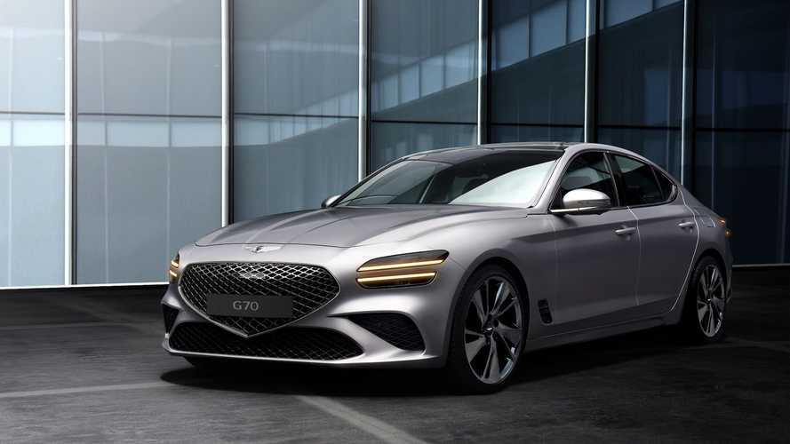 Makyajlı 2021 Genesis G70 gösterildi!
