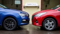 Skoda Rapid против Hyundai Solaris