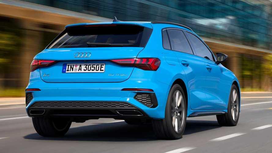 68 km-t tisztán elektromos módban is elmegy az új Audi A3 Sportback 40 TFSI e