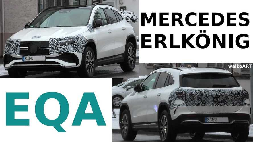 Mercedes-Benz EQA Loses A Few More Pieces Of Camouflage