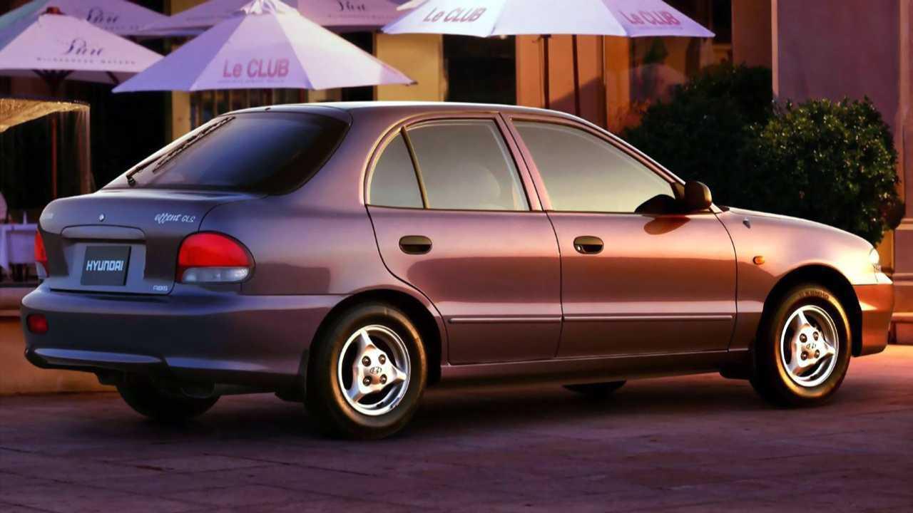 Hyundai Accent Mk1 (1995 – 1999)