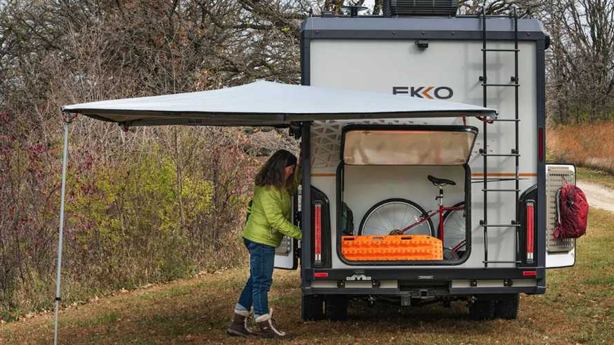Winnebago Ekko, un Ford Transit camper de ensueño