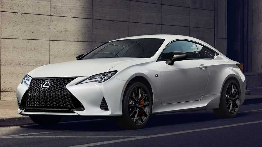Lexus RC And ES Get Black Line Treatment, Limited Production Run