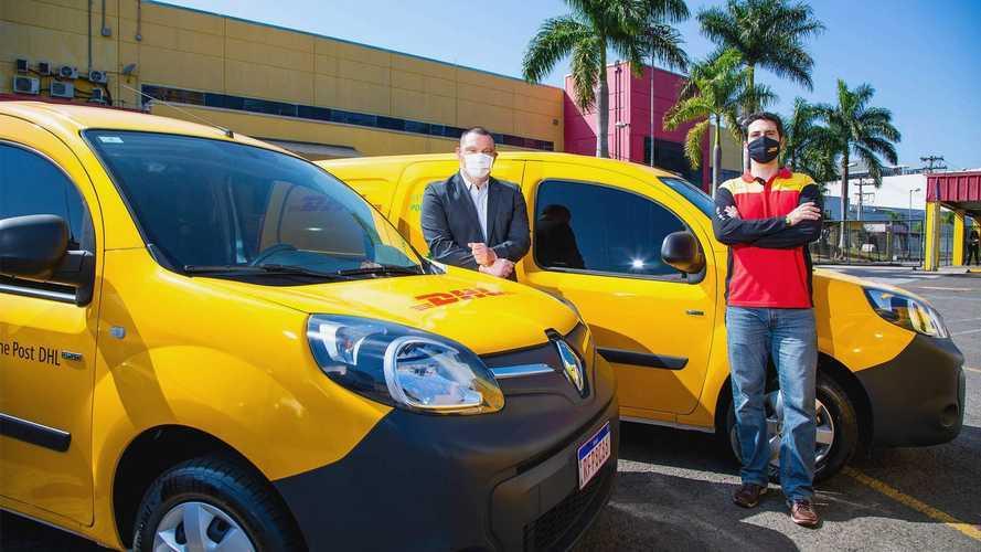 DHL amplia frota de veículos elétricos no Brasil em parceria com a Renault