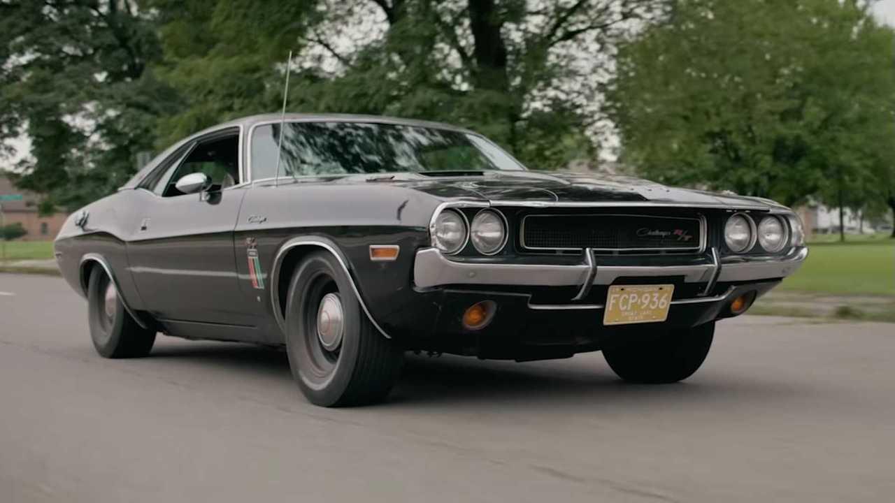 1970 Dodge Challenger Fekete Szellem