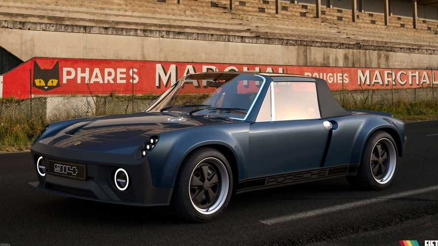 Porsche 914 Returns As Restomod With Cayman S Power