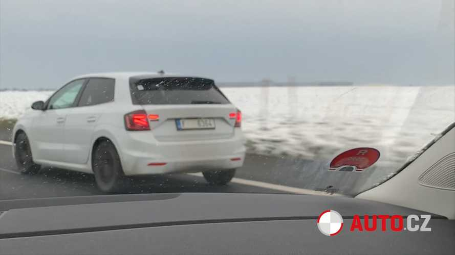 2021 Skoda Fabia spied revealing more of its new design