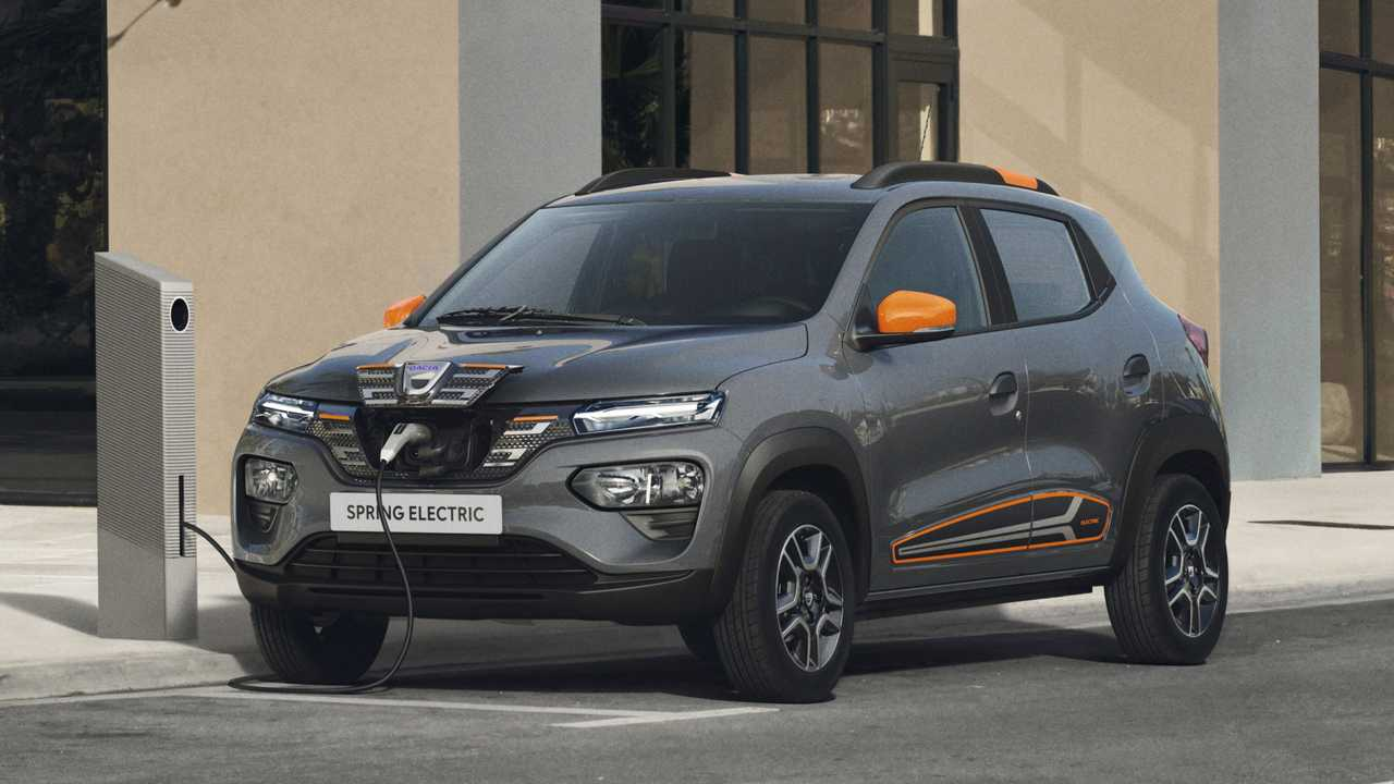 Dacia Spring Electric (ab Herbst 2021)