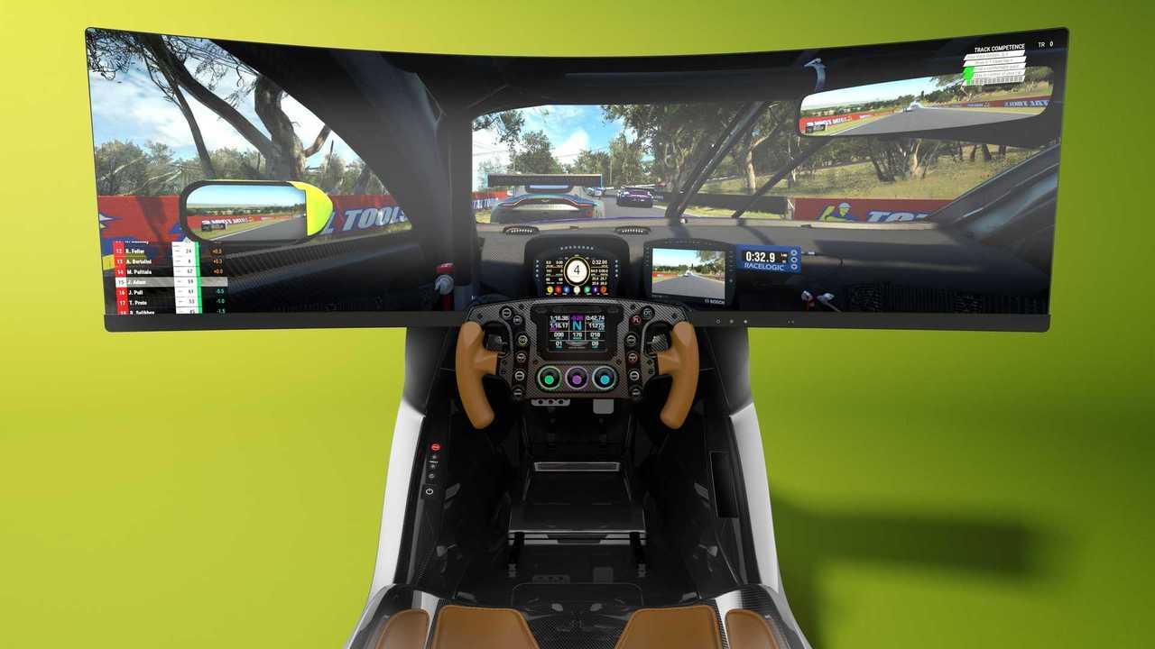 Simulateur de course Aston Martin AMR-C01