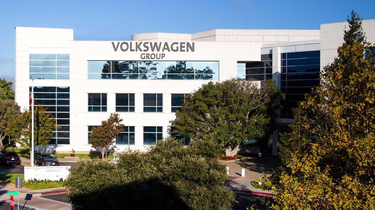 Charging infrastructure at the Volkswagen Group of America's IECC Silicon Valley Campus