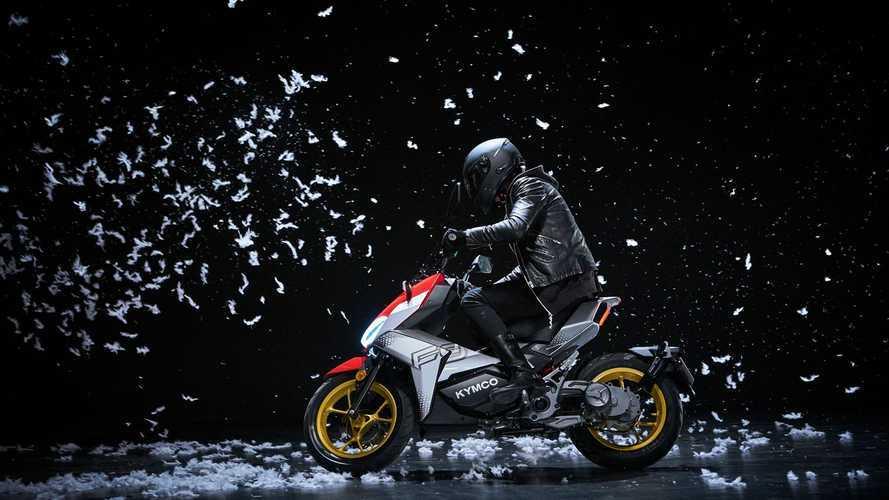 Kymco'dan iki vitesli otomatik şanzımana sahip elektrikli motosiklet!