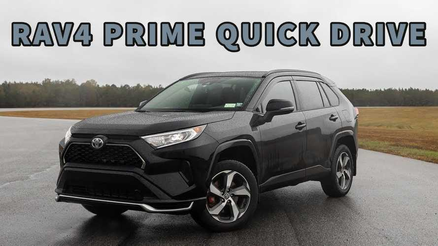 Toyota RAV4 Prime PHEV: How Does Toyota's 2nd-Quickest Vehicle Drive?