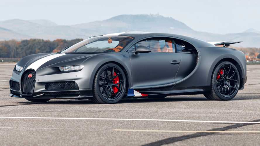 Bugatti Chiron Sport Les Légendes du Ciel Debuts With Aircraft Influences