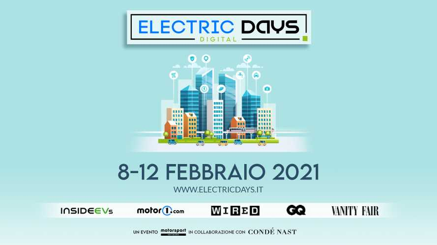 Electric Days Digital 2021, il mondo dell'auto elettrica sbarca online
