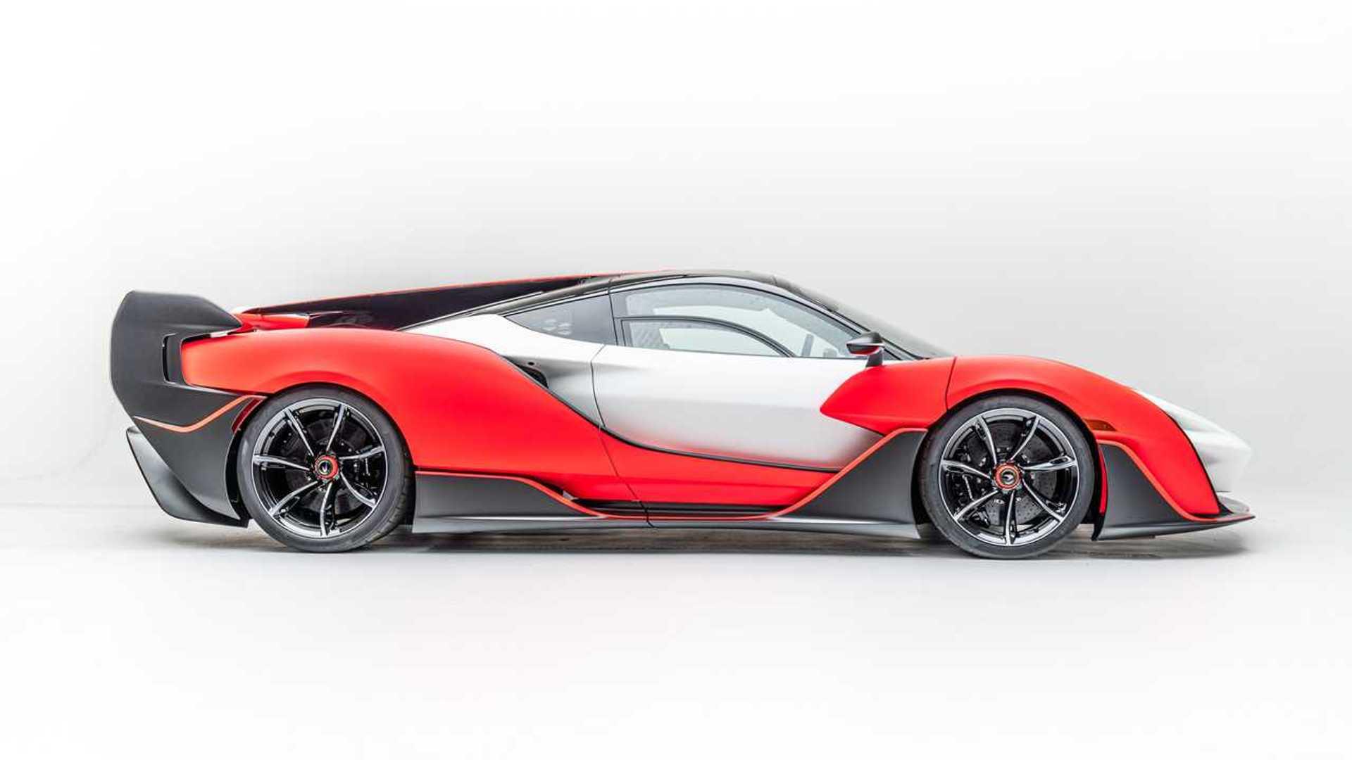 2021 McLaren Sabre Side