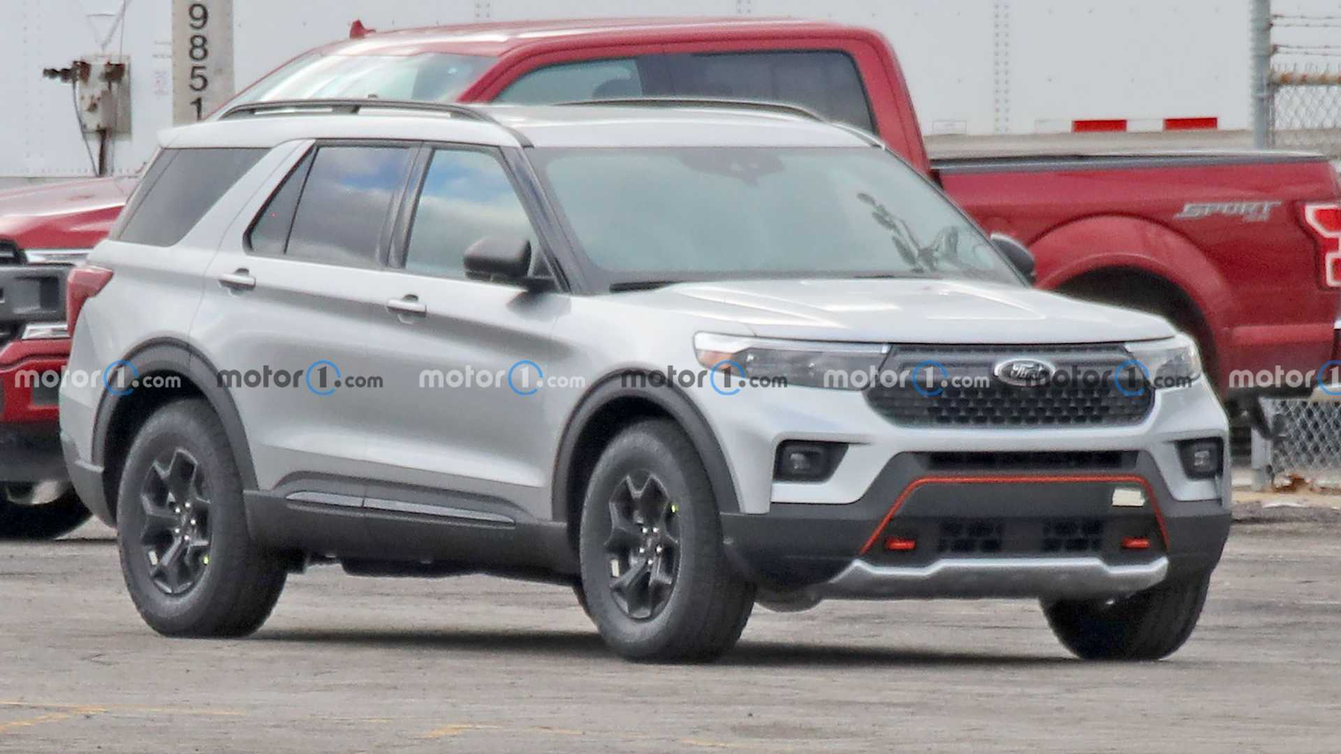 2022 Ford Explorer Timberline Caught Fully Exposed In New Spy Shots