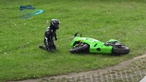 accidentes motos nurburgring video caidas salvadas