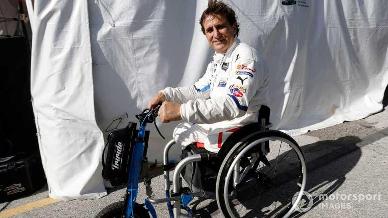Alex Zanardi at IMSA Daytona 24 2019