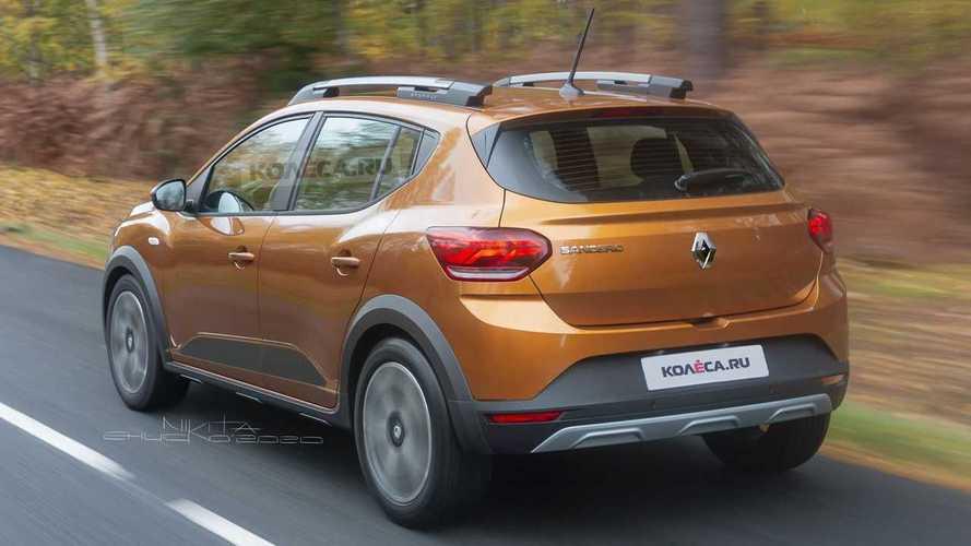 Renault Sandero Stepway 2021 - Projeção