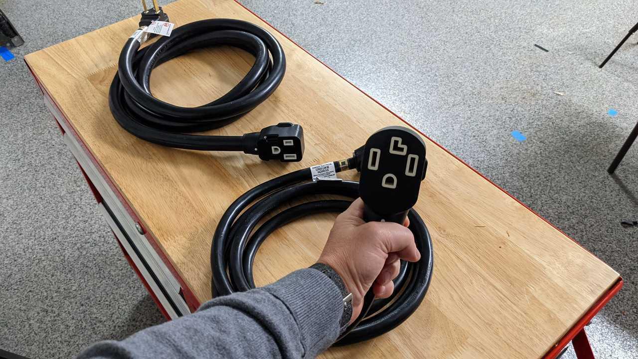 EV extension cables