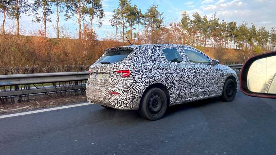 2021 Skoda Fabia Spied With Production Body For The First Time