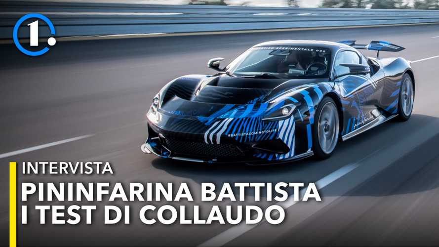 Pininfarina Battista, come sono andati i test in pista con 1.900 CV