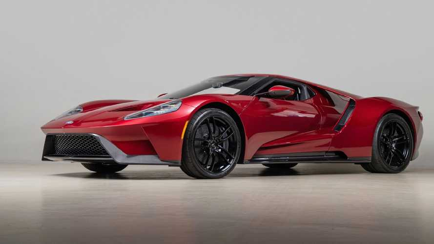 2017 Ford GT owned by the man who designed it can be yours