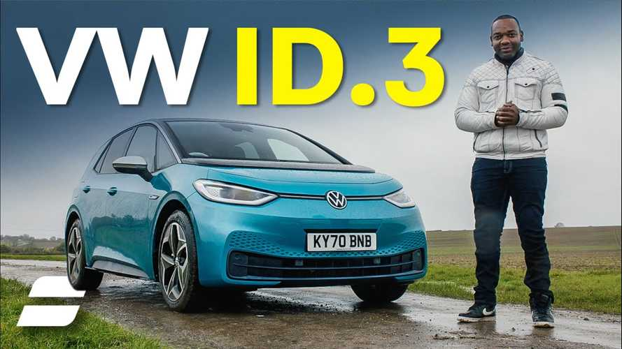 Rory Reid gives VW ID.3 a fair review: It's likeable but not quite perfect