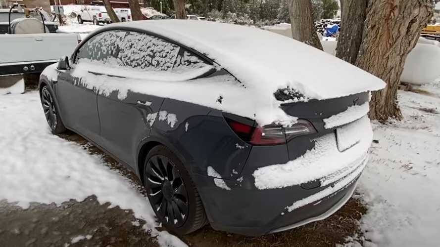Tesla Model Y Cold & Snow Testing: How Will The Y Fare In The Winter?