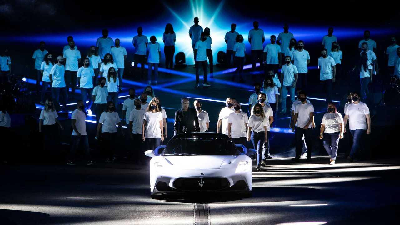 Maserati MC20 presentazione