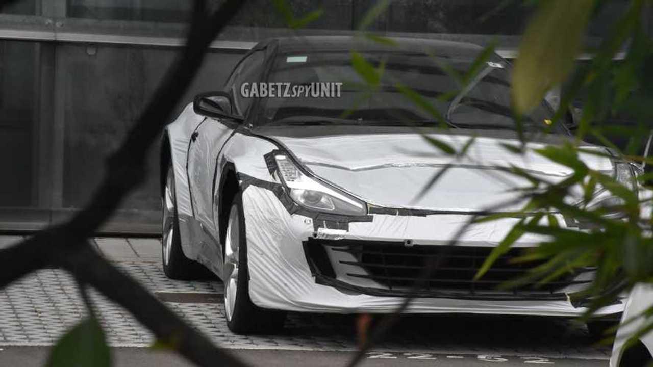 Ferrari Purosangue SUV test mule spy photo