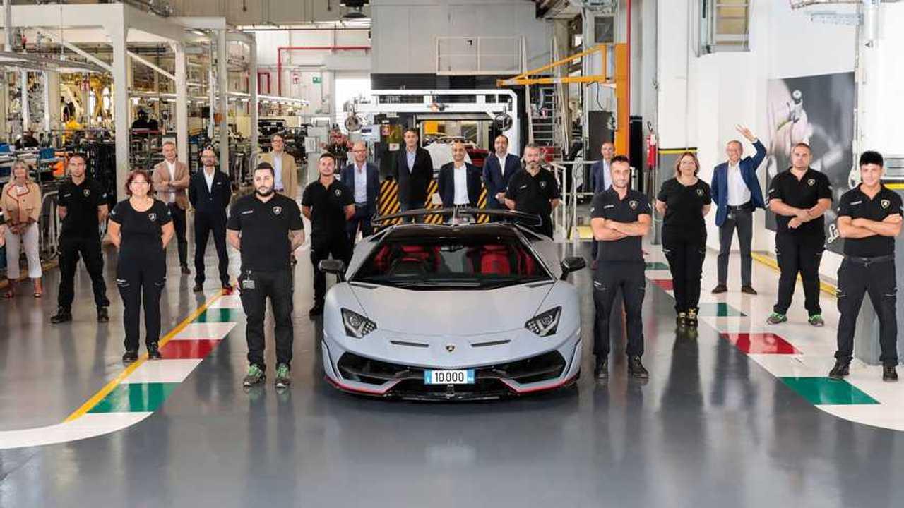 Lamborghini Aventador N° 10.000